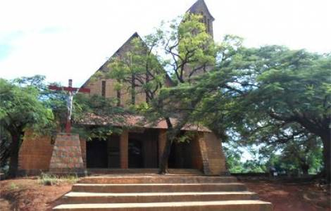 Ambendrana Antsohihy friary Madagascar