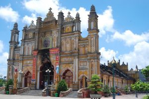 Mary Mother of God church, Trung Dong, Nam Dinh province, Vietnam