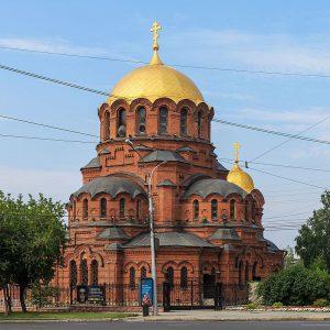A Nevsky_Cathedral_Novosibirsk